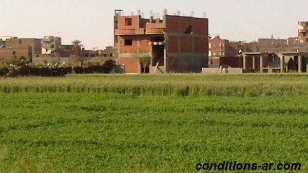 شروط البناء علي الاراضي الزراعيه في مصر .